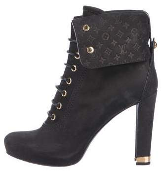 Louis Vuitton Monogram Ankle Boots