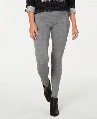 Style&Co. Style & Co Petite Plaid Comfort-Waist Leggings