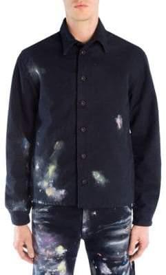 Off-White Vintage Paint Work Jacket