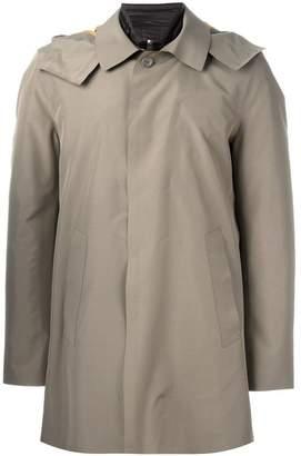 Kiton detachable lining raincoat