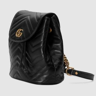 Gucci GG Marmont matelassé backpack