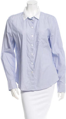 Boy. by Band of Outsiders Striped Button-Up Top $70 thestylecure.com