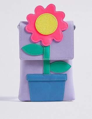 Marks and Spencer Kids' Flower Cross Body Bag