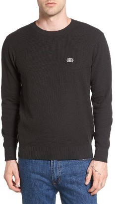 Men's Obey New Times Sweater $69 thestylecure.com