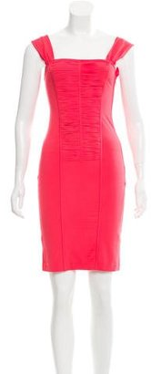 La Perla Fringe-Accented Knee-Length Dress w/ Tags $125 thestylecure.com