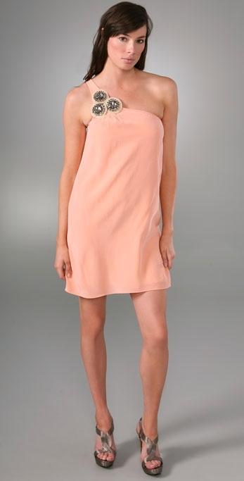 AKA New York Cluster Jeweled Dress