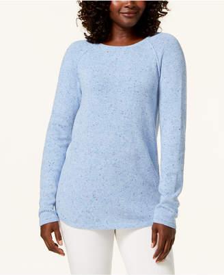 Karen Scott Crew-Neck Sweater, Created for Macy's