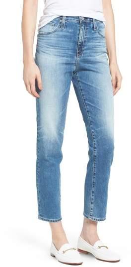 AG 'The Phoebe' Vintage High Rise Straight Leg Jeans