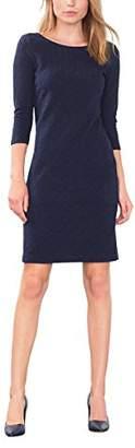 Esprit Women's 106EE1E017 Dress, Blue (Navy), (Manufacturer Size: Medium)