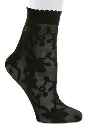 Aldo Sheer Floral Ankle Socks - Women's