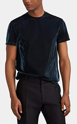 Maison Margiela Men's Metallic Jersey Slim T-Shirt - Navy