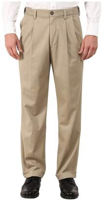 Dockers Comfort Khaki Stretch Relaxed Fit Pleated Men's Casual Pants
