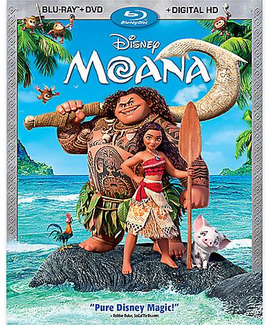 Disney Moana Blu-ray Combo Pack