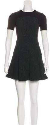 Opening Ceremony Fit-To-Flare Mini Dress
