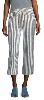 Splendid Striped Drawstring Pants