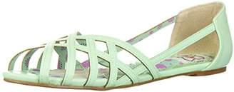 Bettie Page Women's BP100-Carren Flat Sandal