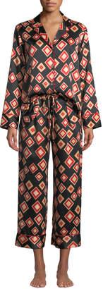 Natori Obi Classic Geo Pajama Set