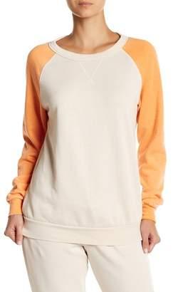 The Laundry Room Colorblock Raglan Sweatshirt