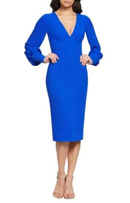 Dress the Population Norah Plunge Body-Con Dress