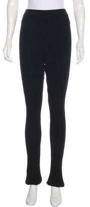 Moncler Knit Mid-Rise Leggings w/ Tags