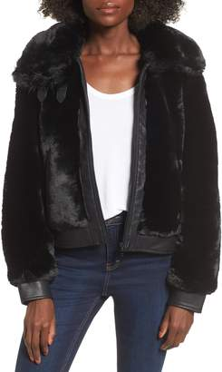 Blank NYC BLANKNYC Faux Fur Jacket