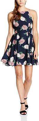 Keepsake Women's Up For Air Skater Floral Sleeveless Dress,8 (Manufacturer Size:Small))