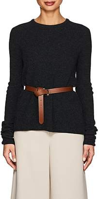 Giorgio Armani Women's Rib-Knit Cashmere-Blend Sweater - Gray