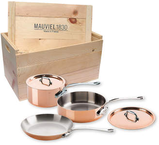 Mauviel M'heritage 1.5-Millimeter Cookware Set With Crate