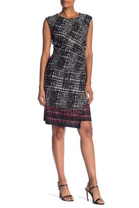 Sandra Darren Printed Shield Dress