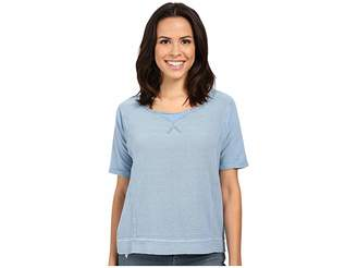 Mavi Jeans Short Sleeve Blouse Women's Blouse