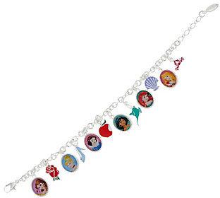 "As Is Disney 6"" Princess Charm Bracelet $16.25 thestylecure.com"