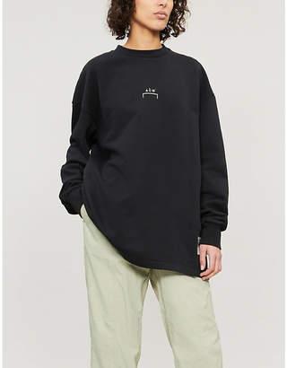 A-Cold-Wall* Logo-print cotton-jersey sweatshirt