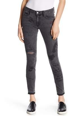 Ralph Lauren Siwy Denim Graphic Print Jeans