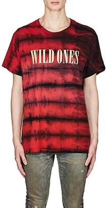 Amiri Men's Wild Ones Cotton T-Shirt - Red