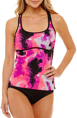 Nike Capsule Collection Tie Dye Tankini Swimsuit Top