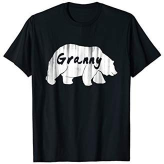 Granny Bear T-Shirt Gift for Grandmother Grandma Grandparent