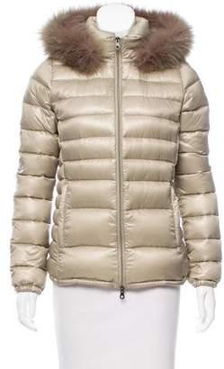 Duvetica Fur-Trimmed Down Jacket
