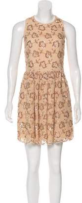 RED Valentino A-Line Lace Dress