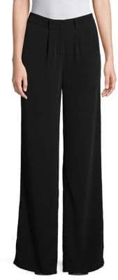 Eileen Fisher Straight Wide-Leg Trousers