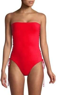 Castile One-Piece Strapless Swimsuit