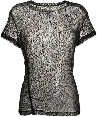 Gaelle Bonheur ruched detail blouse