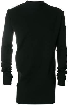 Rick Owens cut-out detail jumper