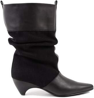 Stella McCartney Plastic Tunit Sole Boots