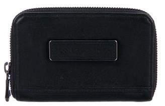 Longchamp Leather Zip-Around Wallet
