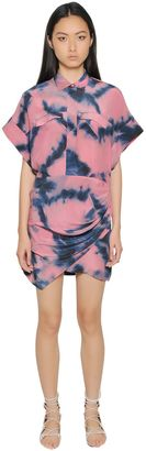 Printed Silk Crepe De Chine Dress $687 thestylecure.com