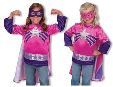 Melissa & Doug 'Super Heroine' Costume (Toddler)