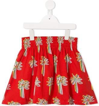 Stella McCartney Graphic Palms skirt