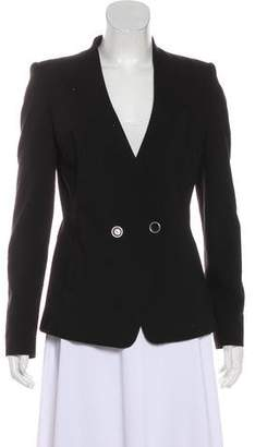 Ted Baker Collarless V-Neck Blazer