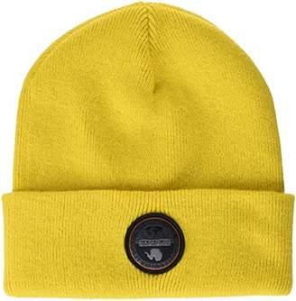 Napapijri Men's Fulton Hat Beret, (Spark Yellow Y36), One (Size: D)