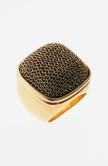 Nordstrom Adami & Martucci 'Mesh' Square Ring Exclusive)